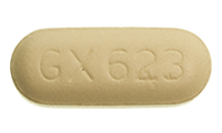 Abacavir (Ziagen) Pill Preview