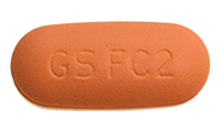 Abacavir-Lamivudine (Epzicom) Pill Preview