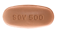 Saquinavir (Invirase) Pill Preview