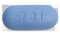 Tenofovir disoproxil fumarate-Emtricitabine (Truvada) Pill Preview