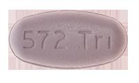 Dolutegravir-Abacavir-Lamivudine (Triumeq) Pill Preview