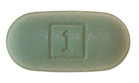 Elvitegravir-Cobicistat-Tenofovir disoproxil fumarate-Emtricitabine (Stribild) Pill Preview